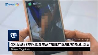 Download Video Oknum ASN Kemenag Sleman Terlibat Kasus Video Asusila MP3 3GP MP4