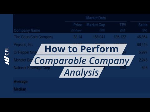 Comparable Company Analysis - Free Guide, Template and Examples