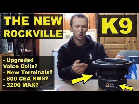 The Best $99 Subwoofer is Back! Updated Rockville K9 V2 - Review