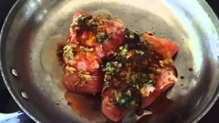 Oven Baked Tuna Steaks