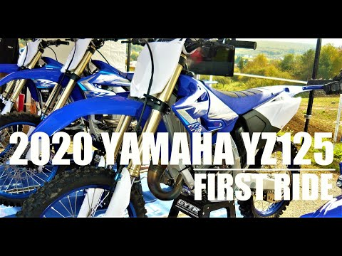 2020 YAMAHA YZ125  First ride