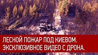 Лесной пожар под Киевом.  Эксклюзивное видео с дрона. Видео 4к!(Лесной пожар под Киевом. Эксклюзивное видео с дрона. Видео 4к! Пожар произошел в Дарницком лесничестве..., 2015-09-04T08:35:07.000Z)