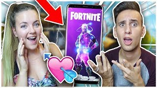 IF I do NOT TOP 1, I BUY THE SKIN GALAXY A MY COPINE ON FORTNITE!
