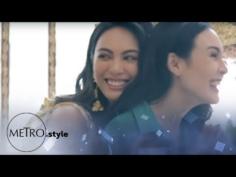 Behind the Scenes: Gretchen Barretto and Dominique Cojuangco on Metro.Style