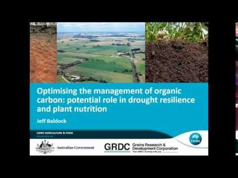 Optimising the management of soils and organic matter (AWRI webinar)