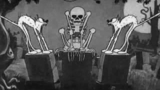 bauhaus-Τhe Μan With The X-Ray Eyes(skeleton dance)