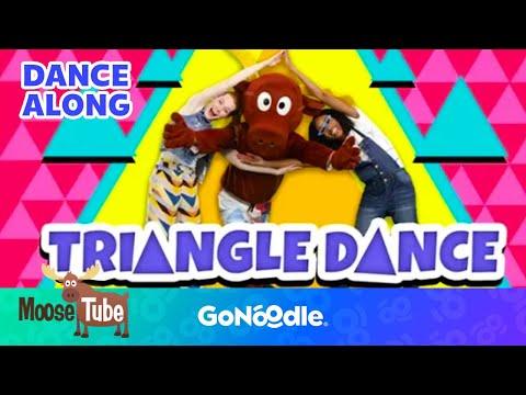 The Triangle Dance - MooseTube  GoNoodle