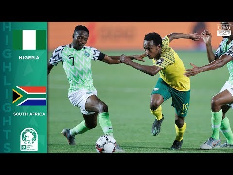 HIGHLIGHTS: Nigeria vs South Africa