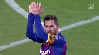 Lionel Messi mit dem heftigsten Freistoßtor der letzten CL-Saison! | DAZN Champions League Flashback