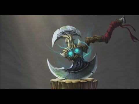 World of Warcraft Battle Axe Item Speed Drawing With Photoshop ( Concept Art )