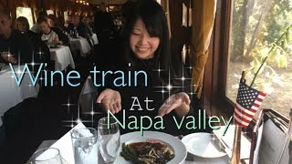 ナパバレー ワイントレイン Napa valley wine train