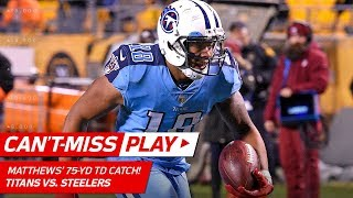 Rishard Matthews Goes 75 Yards on Spectacular TD Catch! | Can