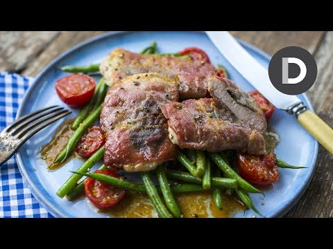 Saltimbocca Alla Romana! 15 minute meal!