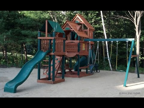 Gorilla Playsets Treasure Trove Swing Set Youtube