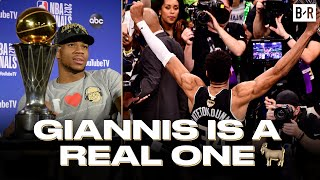 Giannis On Not Joining A Super Team: \