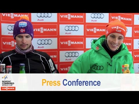 Press conference, schonach, ind. gundersen 05.03.2016