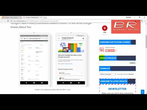 Google's Dashboard Redesign Simplifies Your Privacy Tools ! Security Dashboard ! Google News