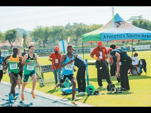 Botswana Claiming the u/20 800m Mens Title