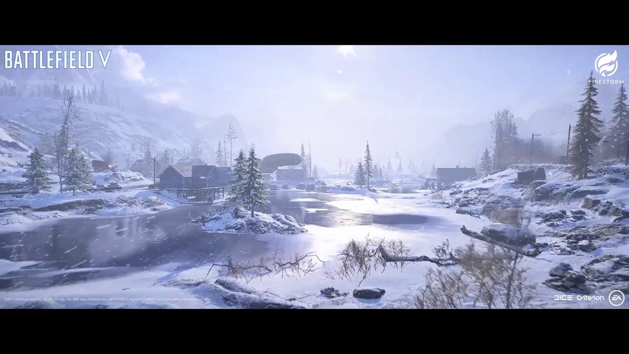 BFV FIRESTORM Frozen Lake Video