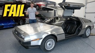Here's Why You Should NEVER EVER Buy a Cheap DELOREAN