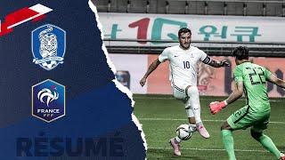 Corée du Sud France Olympique 1 2 le résumé