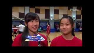 TVB體育世界~國寶郎平教練到訪林大輝中學2015年10月2