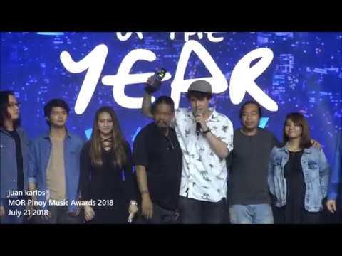 Juan Karlos At MOR Pinoy Music Awards 2018 : Winner Of ALBUM Of The Year 2018