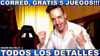 ¡¡¡CORRED,GRATIS 5 JUEGOS!!! - Hardmurdog - Noticias - Ps4 - Pc - 2019 - Español
