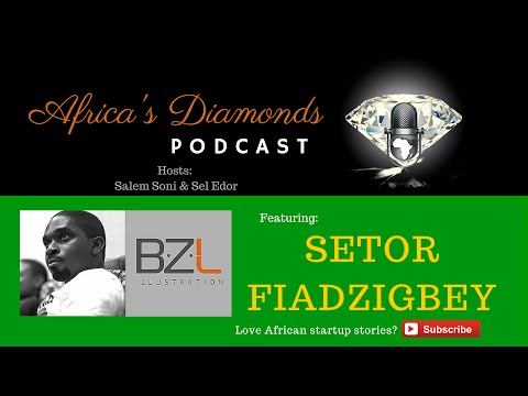 ADP Ep 5 - A Passion Through The Arts - with Setor Fiadzigbe