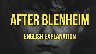 ICSE English   After Blenheim   by Robert Southey   Stanza Wise Explanation   Summary