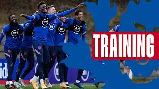 Young vs Old: England Go Head to Head in an Intense Training Match! | Inside Training | England