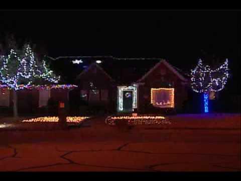 amazing college station christmas light display kbtx news 3 shane mcauliffe - Christmas Lights College Station