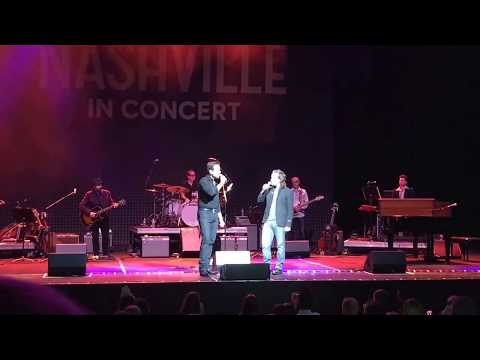 Let It Be Me  Everly Brothers cover  Jonathan Jackson & Charles Esten  Nashville In Concert 2017