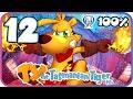 Ty the Tasmanian Tiger HD 100% Walkthrough Part 12 (PS4) Boss 3: Fluffy's Fjord