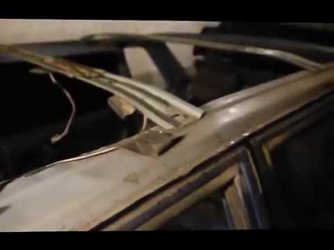 ВАЗ 2115 Как снять обшивку потолка! - YouTube