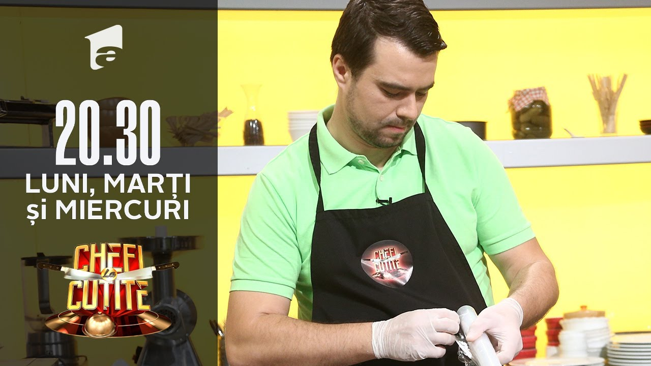 Andrei Iliescu, un profesor de gătit, la Chefi la cuțite:
