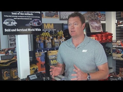 Famous Basketball player Luc Longley reveals where he shops for all of his 4wd accessories