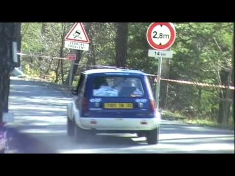 Renault 5 Alpine Gr2 in race  from France (Driver: J.L.Clarr)
