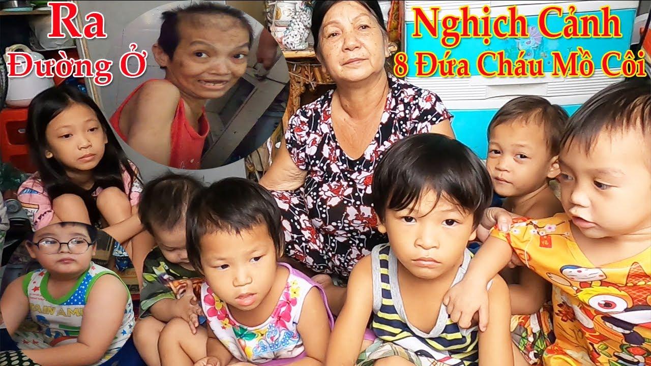 Nghịch cảnh bà lão nuôi 7 đứa cháu ,Cùng cô con gái bệnh lạ hơn 40 tuổi