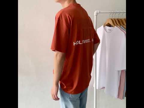 남녀공용 유니버셜 반팔 티셔츠