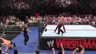 Mike Tyson or an Alien? WWE2k16 Showcase