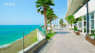 Walk in a Strong Wind, The city of Netanya