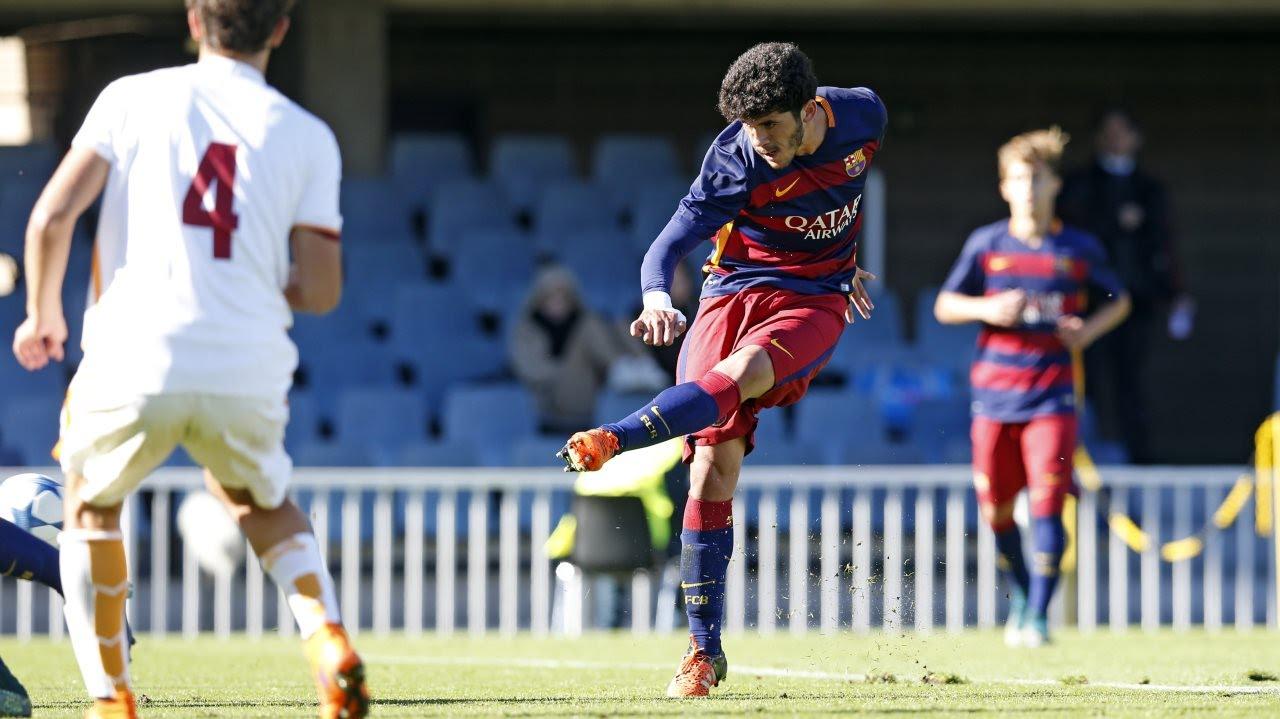 Barcelona U19 star Carles Alena scores Lionel Messi-esque goal