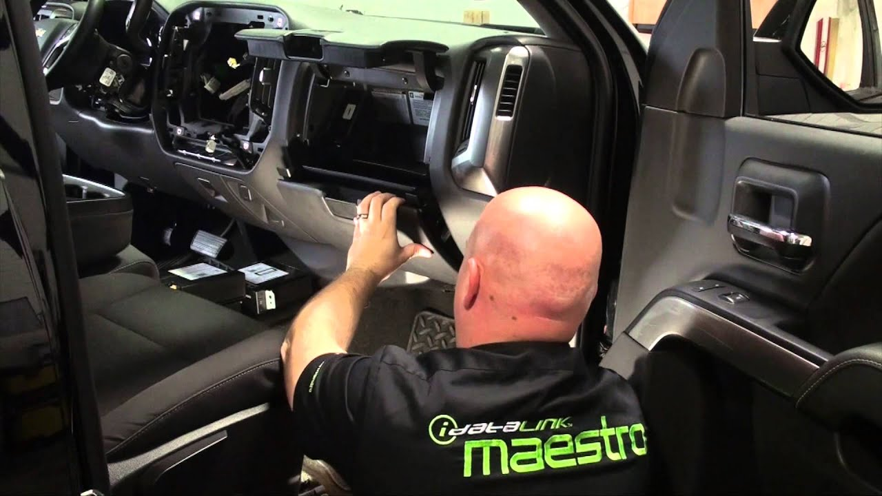 2015 Silverado2500hd Maestro Gm3 Installation Part 3 Glove Box Youtube Mounted Wiring Harness