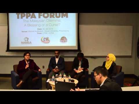 TPPA FORUM : The Malaysian Dilemma @ Drexel University