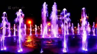 MUST SEE VIDEO :- MOST AMAZING RELAXING WATER FOUNTAINt  BARCELONA IN SPAIN.