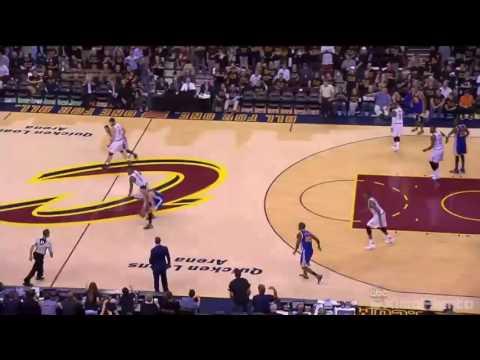 Dahntay Jones Tries to Distract Barnes from Bench  Warriors vs Cavaliers  Game 6  2016 NBA Finals