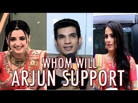 Arjun Bijlani can not choose between Sanaya and Radhika to hoot in Jhalak Dikhlaja
