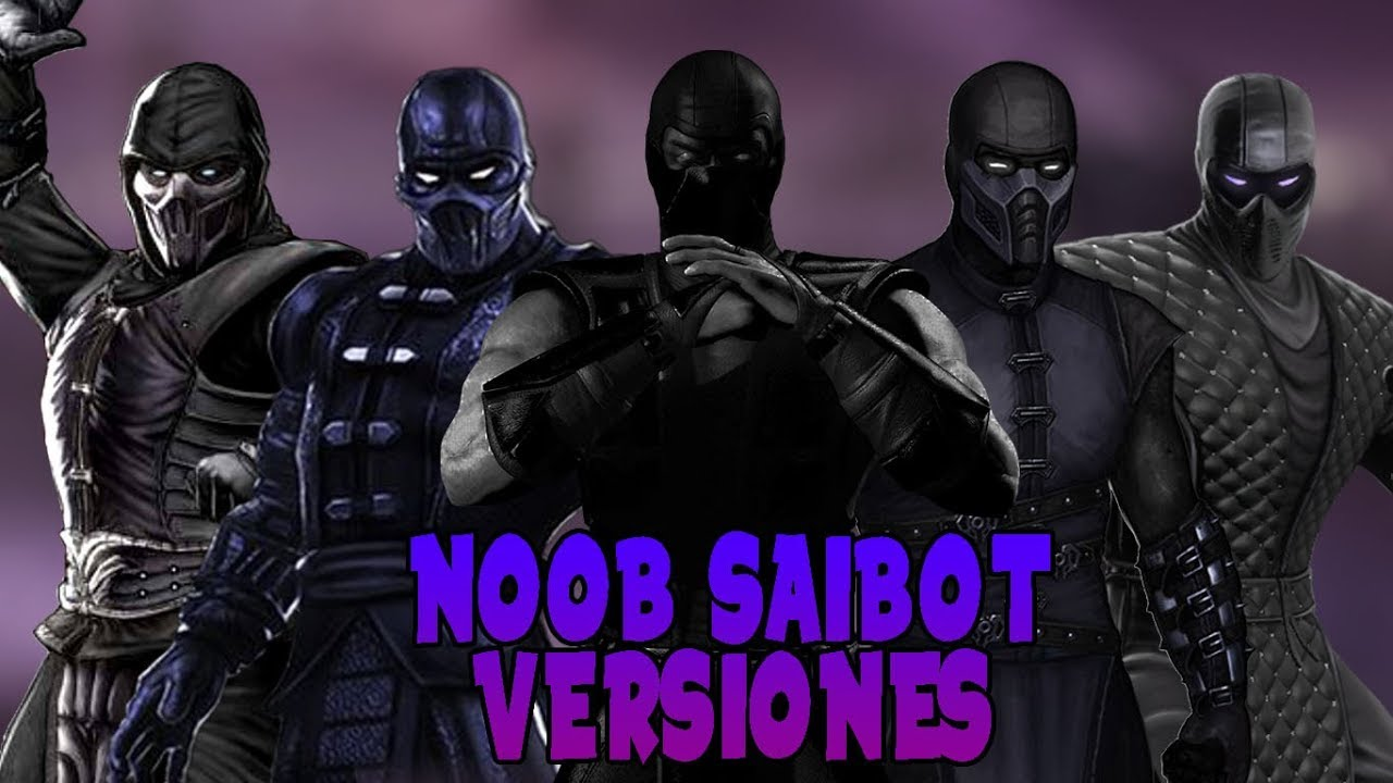 TODAS LAS VERSIONES DE NOOB SAIBOT