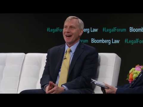 U S  Attorney Richard Donoghue speaking at the Bloomberg Law Leadership  Forum